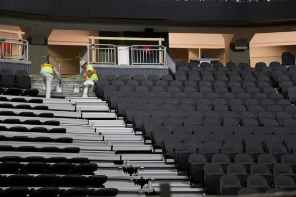 Commentary: Inside the new home of the Pac-12 tournament