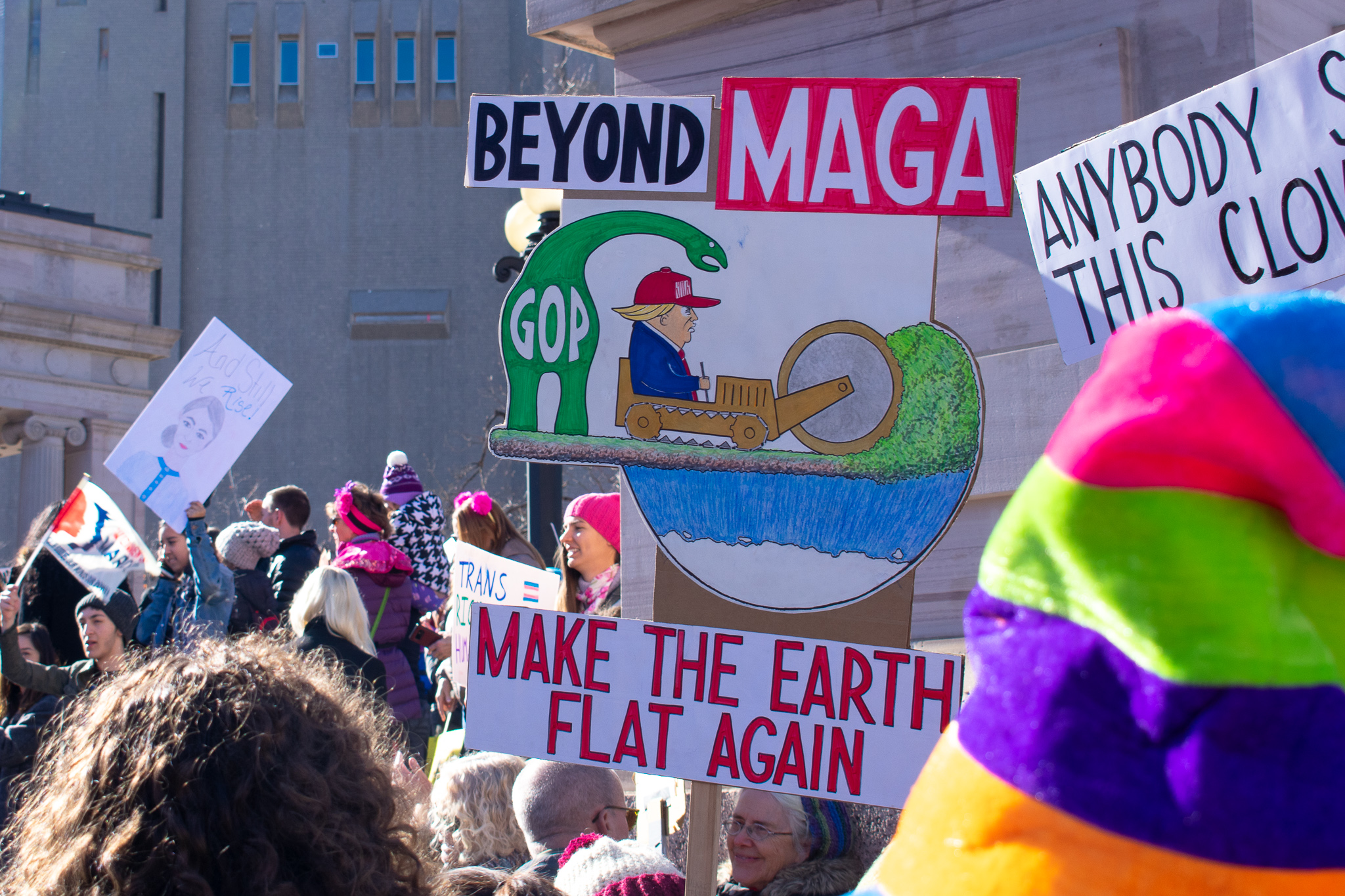 Tracing the evolution of the Womxn's March through its attendees