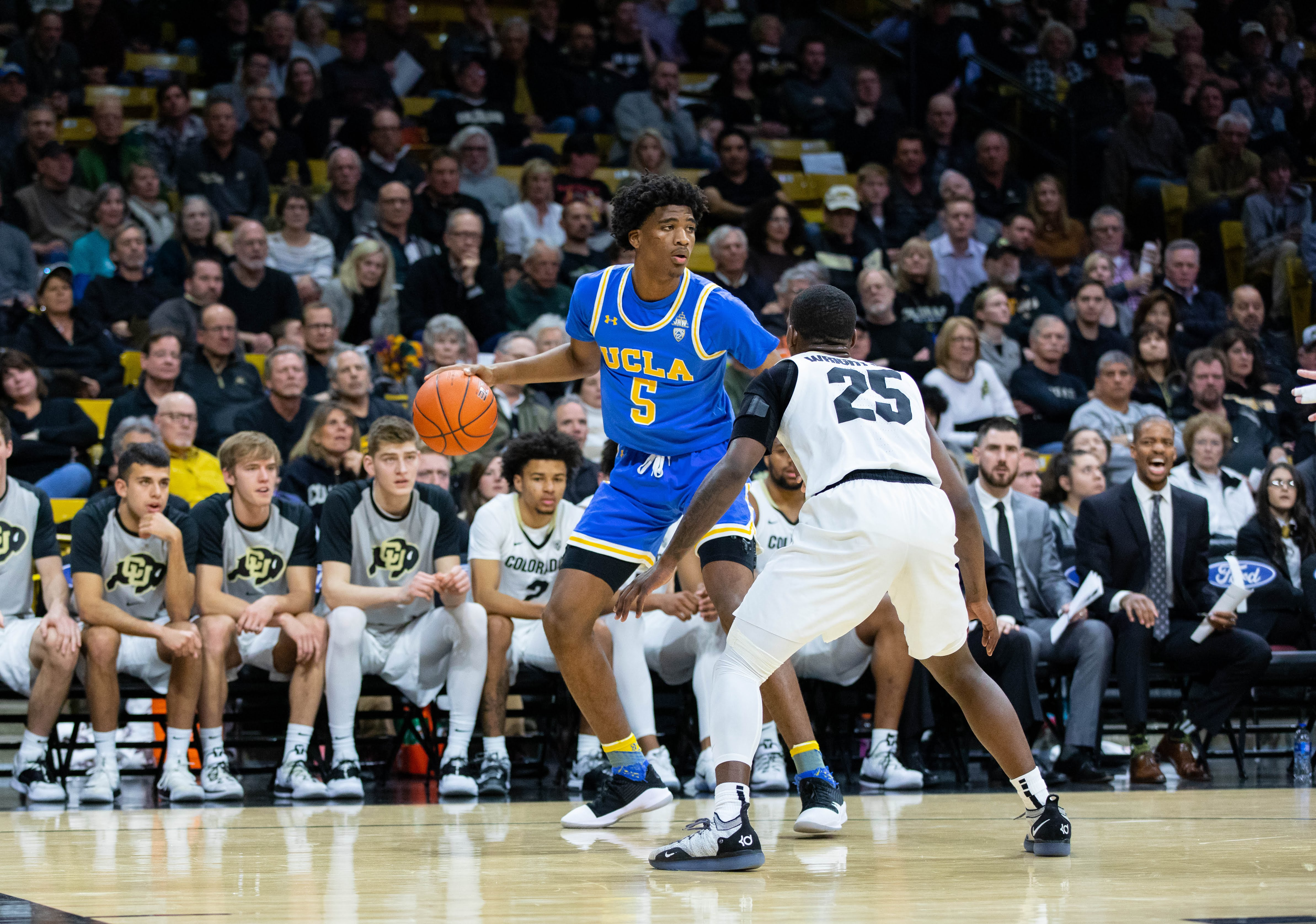 Bey and Gatling go off in Buffs' 93-68 victory over UCLA