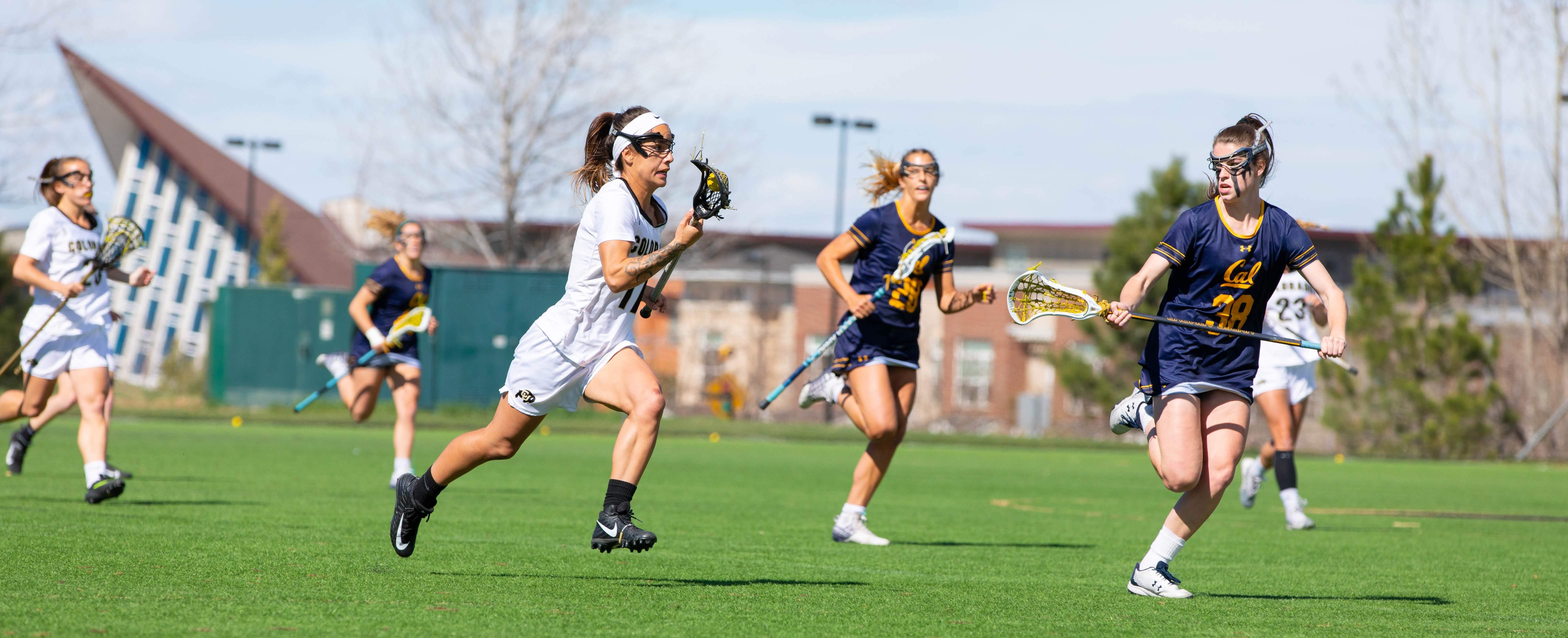 Women's lacrosse dominates UC Berkeley in senior night victory, 15-6
