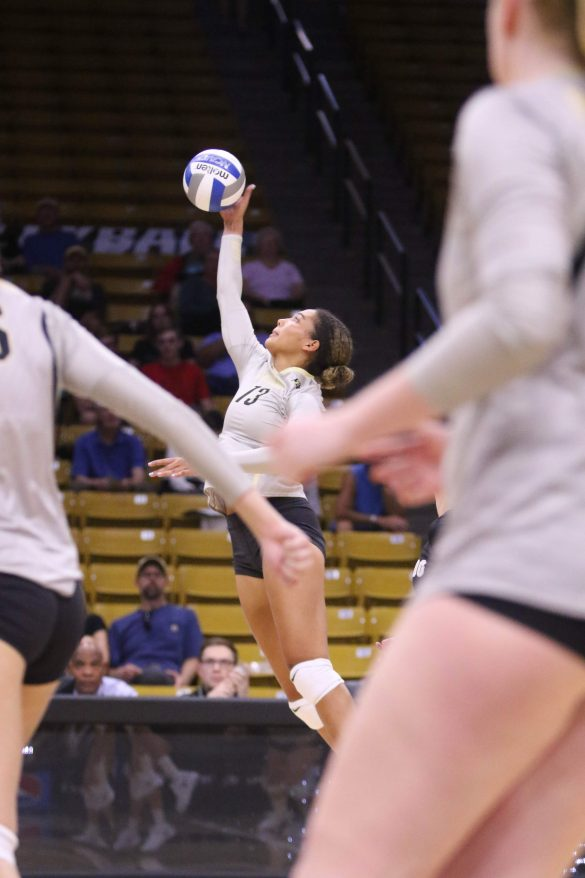 Colorado volleyball wins first match of Colorado Classic 3-1