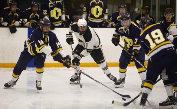 CU men's hockey drops weekend series to Central Oklahoma University