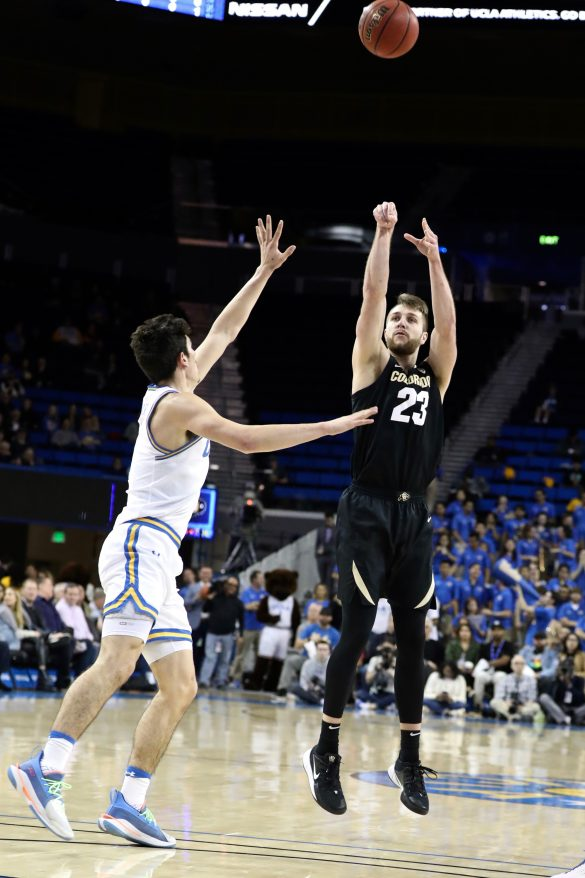 Colorado drops first game of L.A. road trip to UCLA, 72-68