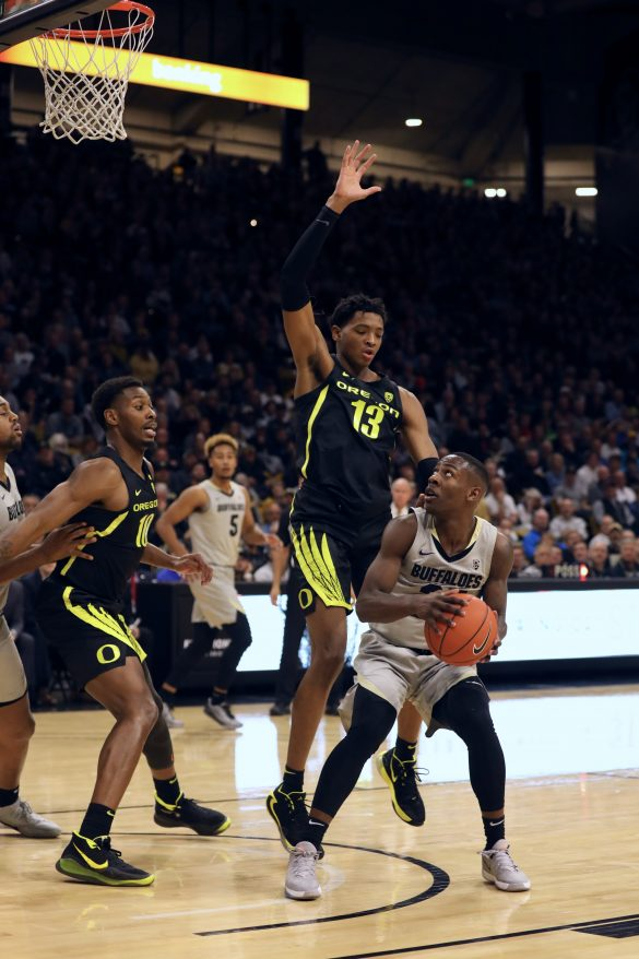 Colorado basketball tops No. 4 Oregon in Pac-12 opener