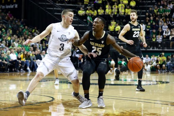 Buffaloes falter down the stretch, fall at Oregon, 68-60