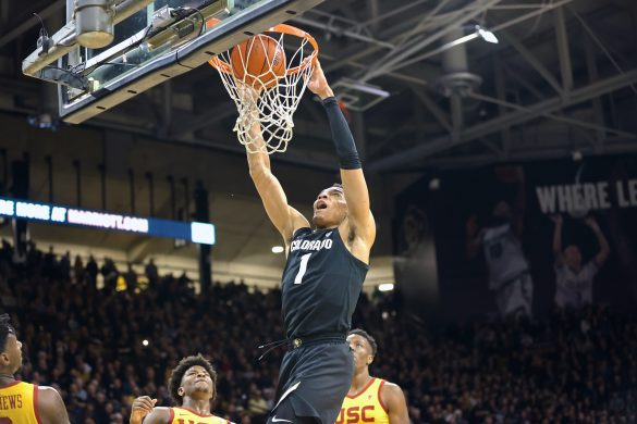 Colorado uses strong second half to beat USC, 70-66