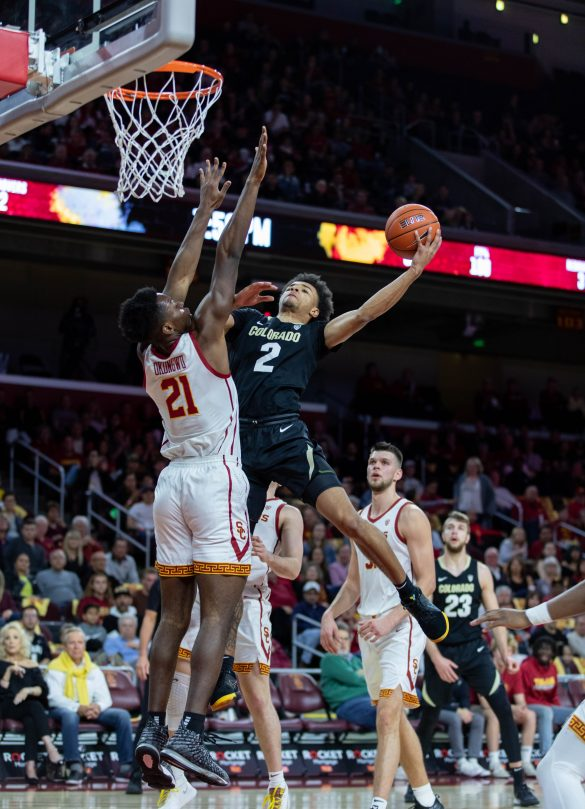 Colorado breaks even on L.A. road trip, defeats USC 78-57