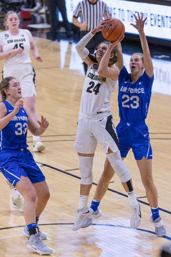 Strong shooting propels Buffs past Air Force