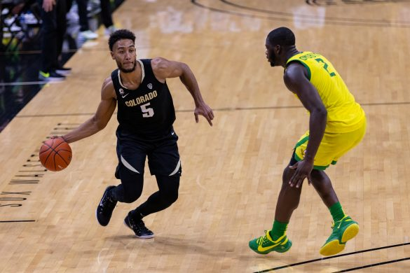Buffs down No. 17 Ducks in Boulder, 79-72