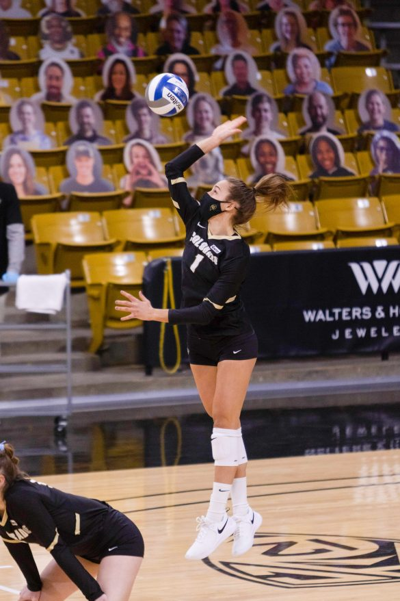 Colorado dominates Cal, completes sweep at CU Events Center