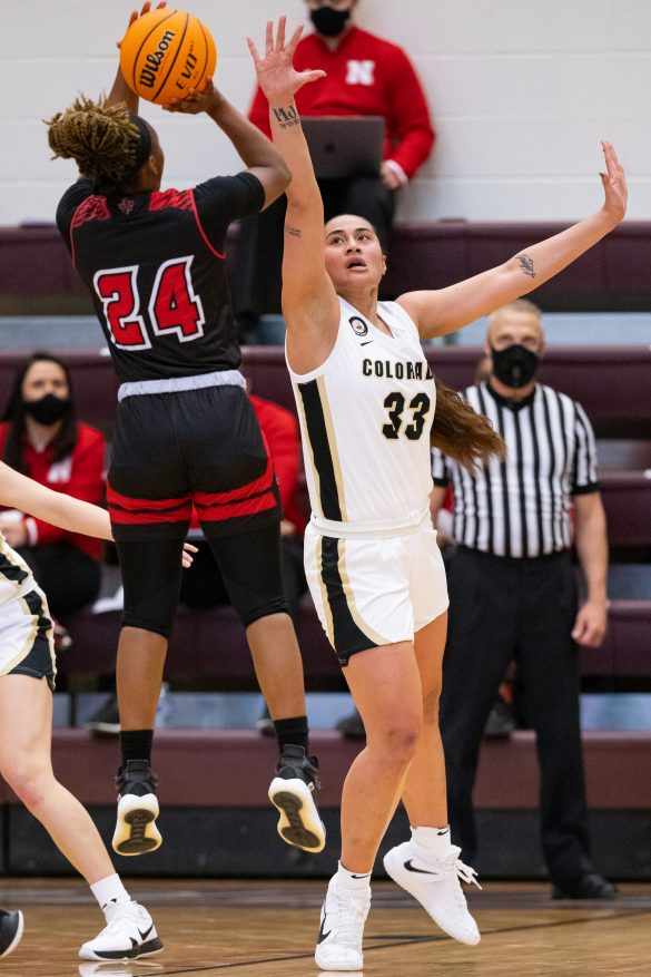 Tuitele and Formann each score 14 to lift Buffaloes in WNIT opener