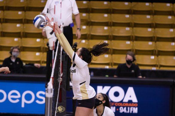 Buffs volleyball unable to hurdle No. 12 Bruins